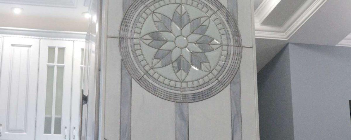 Стеновое Витражное панно. Тиффани.