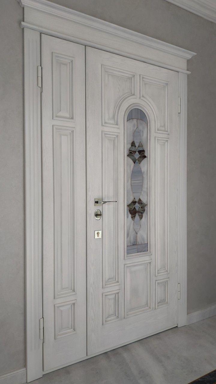 Витражные вставки в межкомнатные и входные двери 02